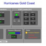 AOM webpage equipment status at Hurricanes Surfers Paradise